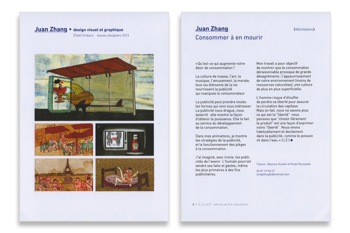 Louise Devalois graphiste Toulouse edition